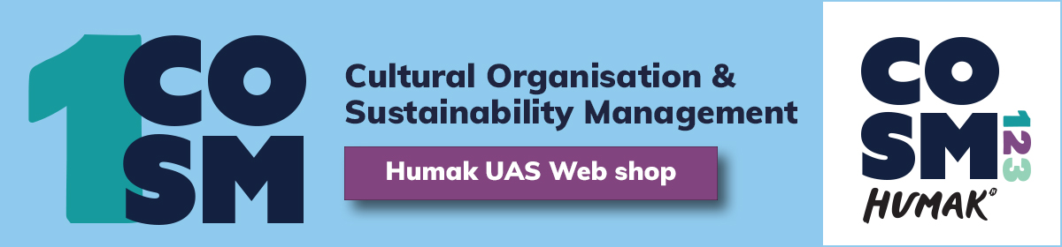 Link to: https://kauppa.humak.fi/en/tuote/cosm-1-cultural-organisation-sustainability-management-5-etcs-spring-2021-new/